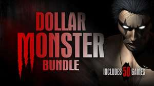 [Steam] Dollar Monster Bundle (50 Games) - 95p - BundleStars