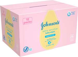 Johnson's Baby Wipes Extra Sensitive 56 x 12 was £10.00 now £6.50 (Rollback Deal) @ Asda