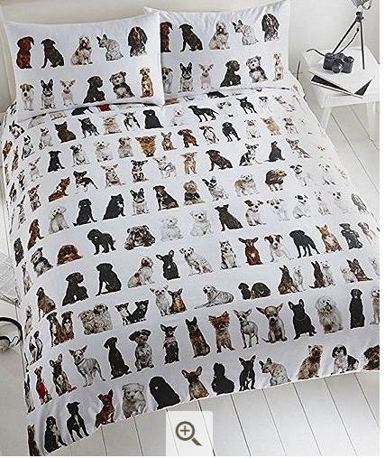 Doggy Duvet Cover Kingsize £12.95 @ Tesco Direct