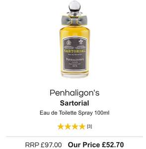 Penhaligon's EDT and EBP on sale £52.70 @ All beauty