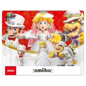 Three pack Mario Odyssey amiibo preorder at nintendo £32.99