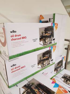 Wilko - oil drum BBQ - found instore (Newport) for £16.25
