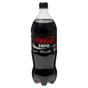 Coca Cola Zero 1.25L Bottles 2 for £1 @ Heron