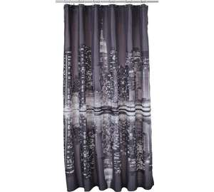 HOME New York Skyline Shower Curtain @ Argos - £3.99 (C&C)