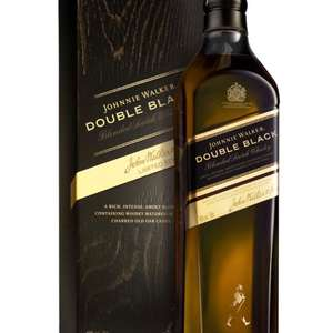 Johnnie Walker Double Black 70cl on Amazon for £25