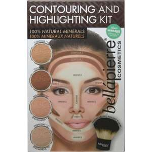 Branded Beauty Bargains @ TK Maxx - Including BellaPierre Natural Minerals Contouring & Highlighting Kit with Kabuki Brush for £14.99