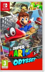 Super Mario Odyssey £37 at Tesco Direct (With Voucher Code)