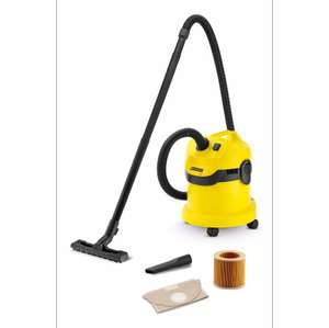 Karcher Corded Bagless Wet & Dry Vacuum WD2 + 2 Year Guarantee £42 (free c+c) @ B&Q (Amazon Prime/John Lewis price matched)