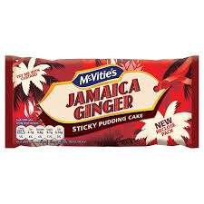 McVitie's Jamaica Ginger Sticky Pudding Cake (245g) Half Price 65p @ Tesco