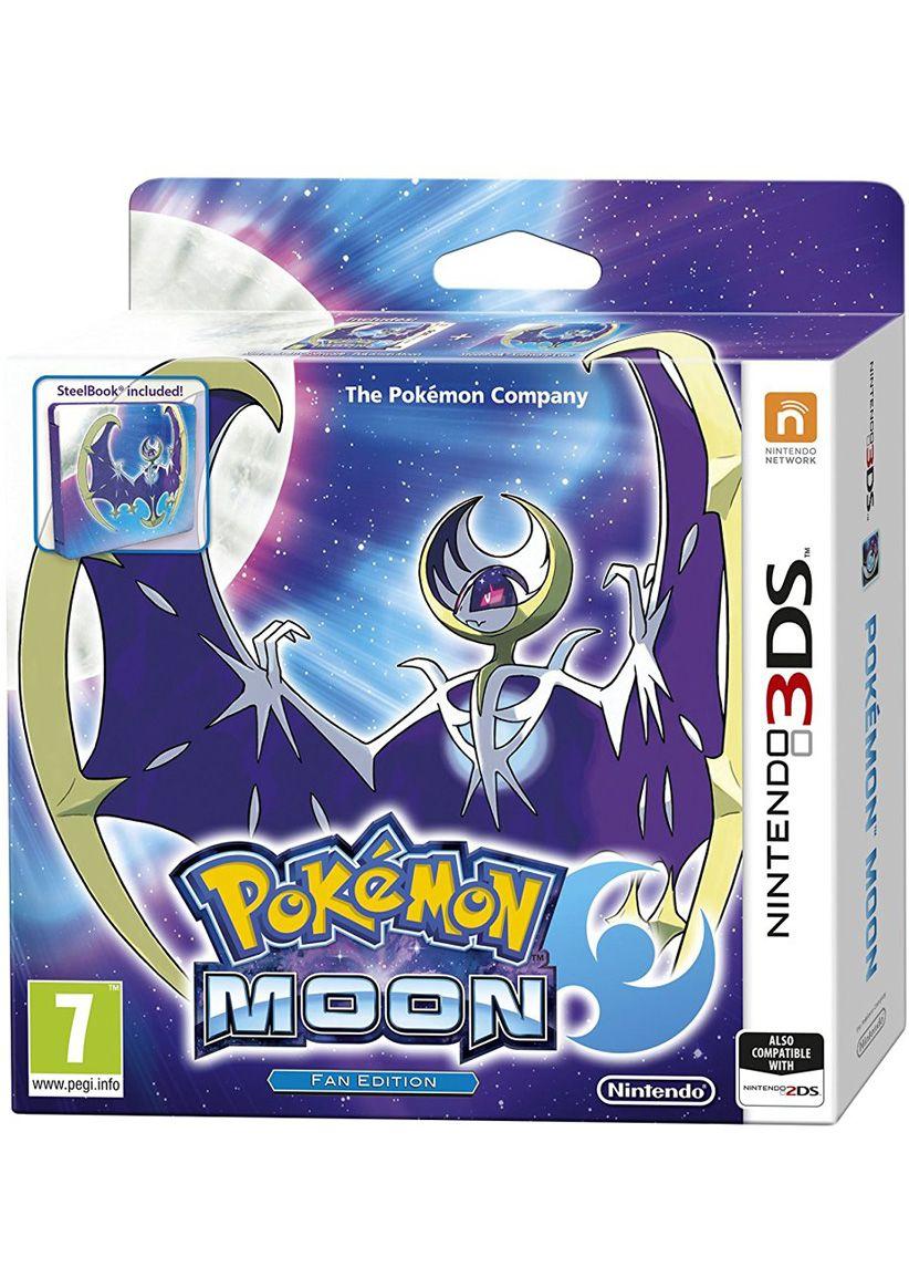 Pokemon Moon Steelbook Fan Edition (+ promotional Bracelet) £24.85 simplygames