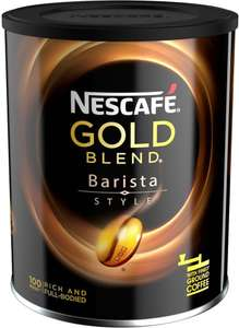 Nescafe Gold Blend Barista Style Instant Coffee 180G Half Price Was £7.49 Now £3.74 @ Tesco
