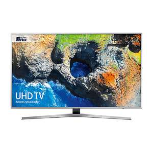 "Samsung UE40MU6400 HDR 4K Ultra HD Smart TV, 40"" with TVPlus & Active Crystal Colour, Silver £429 -  John Lewis"