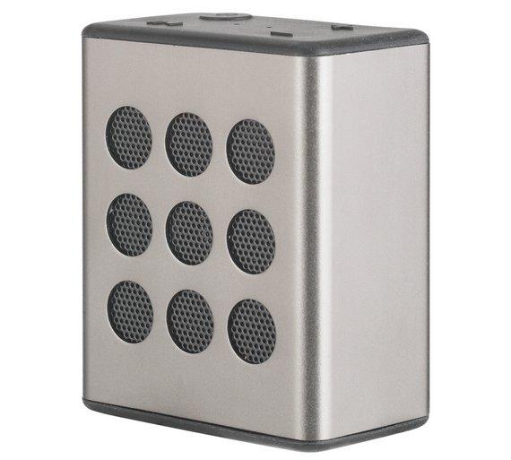 Bush Aluminium Bluetooth Wireless Speaker - Silver £5.99 @ Argos