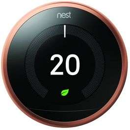 Nest Learning Thermostat 3rd Generation - Copper - £109.50 @ Maplin