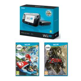 Wii U Premium Console used with Mario Kart & Zelda £119.99 delivered @ GAME