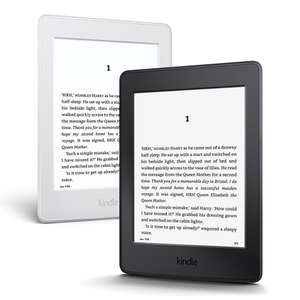 "Kindle Paperwhite E-reader, 6"" High-Resolution Display (300 ppi) with Built-in Light, Wi-Fi - Black / White was £109 now £79 with code @ Tesco Direct"