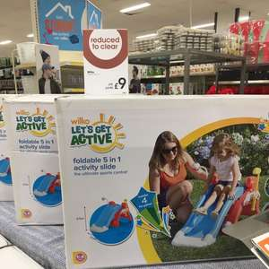 Wilko 5 in 1 foldable slide from £35 to £9 instore Wilko Bournemouth (Winton)