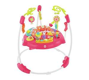 Extra 25% Off Entire Range of Jumperoos w/code at Argos - Fisher-Price Pink Petals Jumperoo now £59.99 (links to more in post)