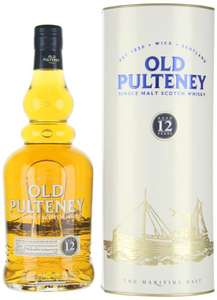 Old pultney 12 Year Old Malt Whisky, 70 cl  new deal - £24 Amazon
