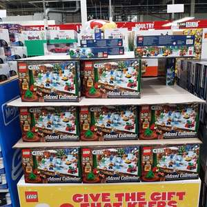 Lego City Advent Calendar £16.78 @ Costco
