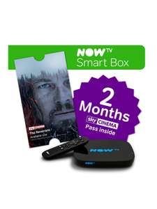 NOW TV Smart Box with 2-Month Movies Pass was £49.99 now £29.99 C+C via Collect+ @ Very