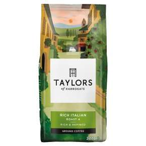 Taylors rich Italian roast coffee £1.74 at Waitrose