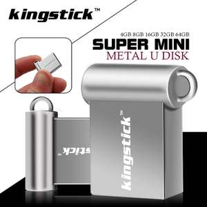 Kingstick super mini 128GB USB flash drive £13.25 @ aliexpress / EclipsMine Store