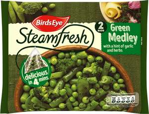 Birds Eye Steamfresh Italian Vegetables With Basil & Rosemary Frozen (2 Packets = 300g) was £1.85 now £1.00 @ Ocado