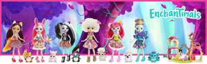 Enchantimals dolls 25% off Argos from £6.49