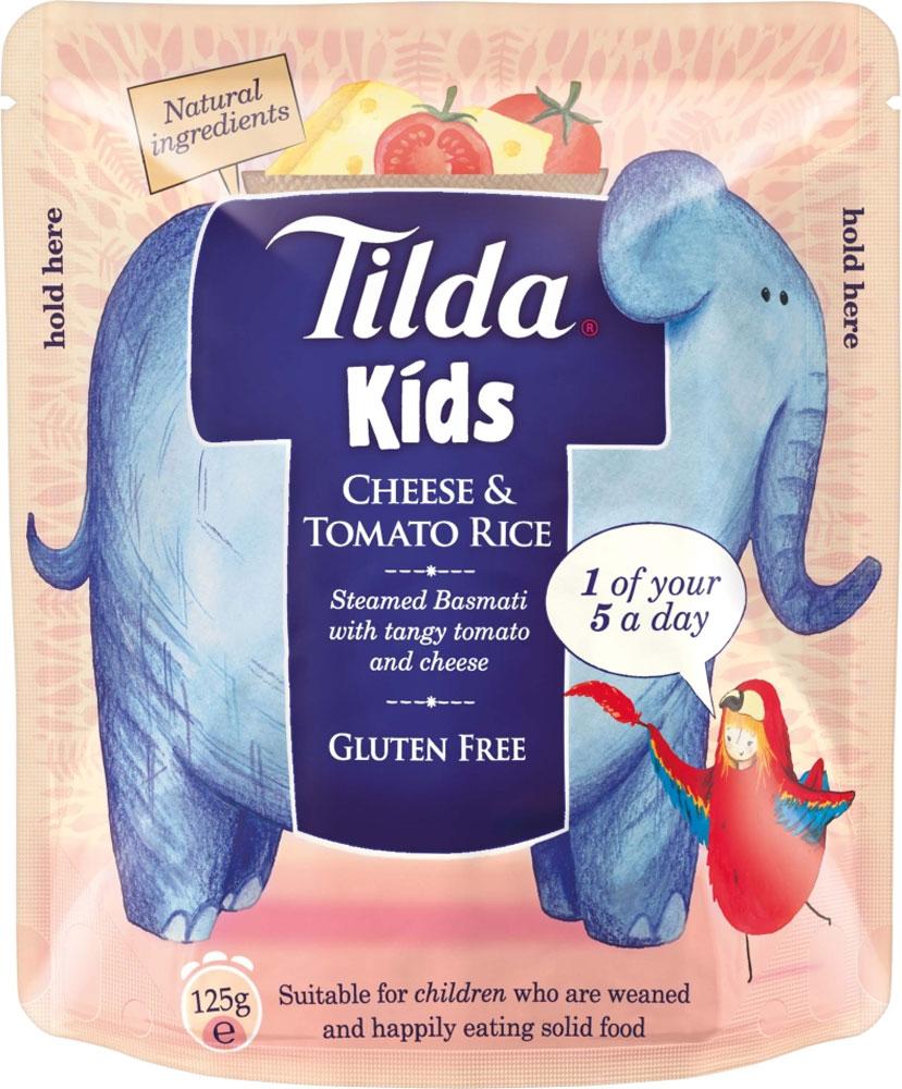 Tilda Kids Sunshine Vegetable Rice (Gluten and Dairy Free) (125g) £1.15 Buy any 1 add 1 free @ Ocado