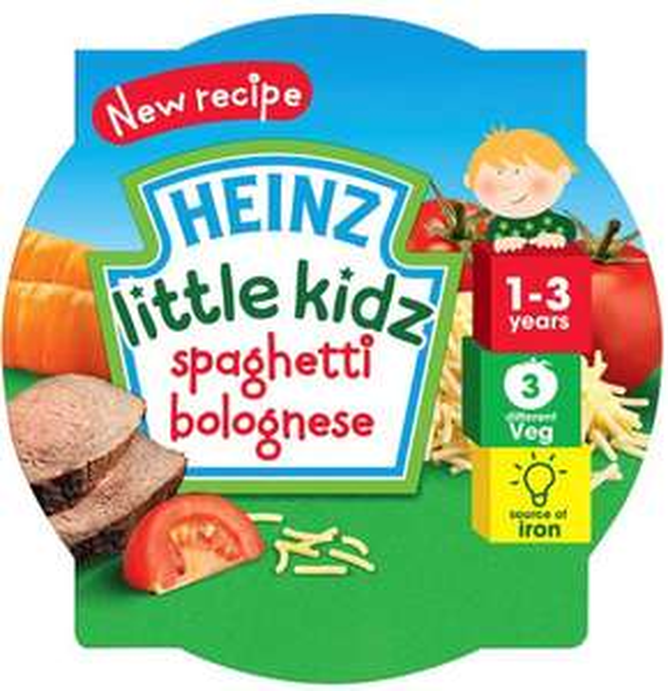 Heinz Spaghetti Bolognese Tray (230g) was £1.59 now Buy any 1 add 1 free @ Ocado