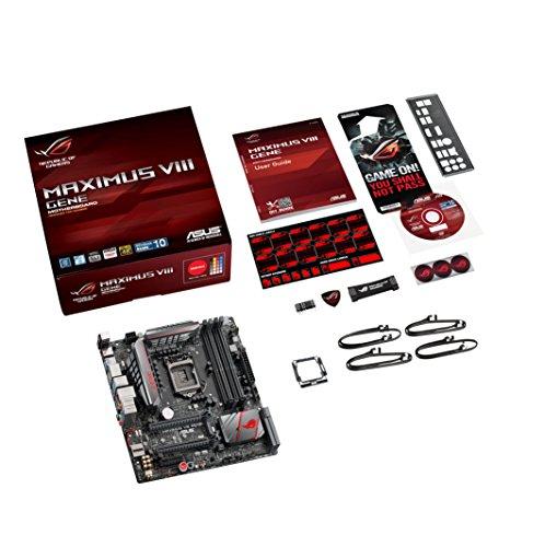 Asus 90MB0MB0-M0EAY0 MAXIMUS VIII GENE Micro ATX LGA1151 Socket Z170 Motherboard £172 Del @ Amazon