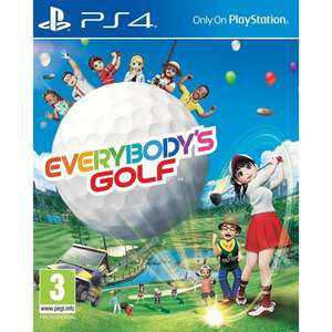 Everybody's Golf (PS4) £21.95 / Pokemon Sun / Moon £23.50 (3DS) Delivered @ The Game Collection