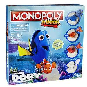 Monopoly Junior Finding Dory Edition Game £7.20 instore / online @ Entertainer (Free C+C wys £10 or + £3.99 Del))