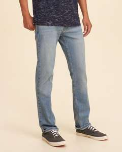 Hollister Mens Slim Straight Jeans £9.89 delivered! Lots of sizes available.