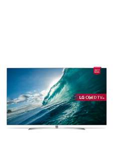LG OLED55B7V 55 inch, 4K Ultra HD Premium HDR, Smart OLED TV with 6 Months Netflix Premium Included £1699.99 @ Very