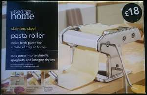 Pasta maker £4 at ASDA, reduced from £18 instore