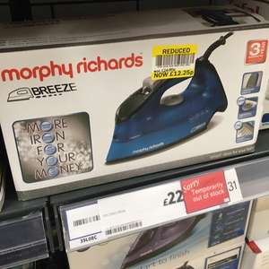 Morphu Richards iron half price in Tesco £12.25