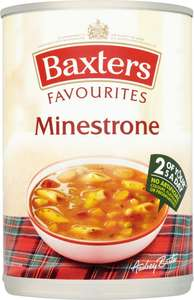 Baxters Soups (400g) was £1.07 now 5 Tins for £3.00 (60p each) (17 Varieties to choose from) @ Asda