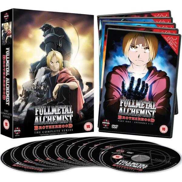 Fullmetal Alchemist Brotherhood - Complete Series 10 Disc DVD Boxset £16.99 delivered @ Base