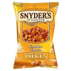 Snyder's pretzel pieces  all varieties @£1.00 instore and online @ Waitrose