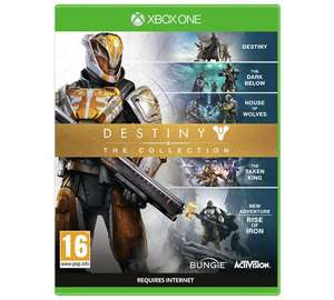 Destiny: The Collection (XB1 / PS4) on sale Argos was £41.99 now £25.99