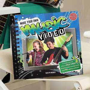 Make Your Own Music Video Book - 99p @ Culture Vulture