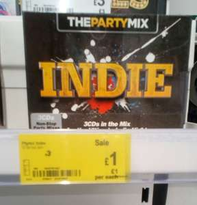 Indie Party Mix box set at Asda - £1 instore (Carlisle)