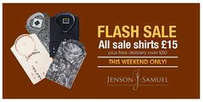 Jenson Samuel shirts from £15