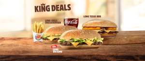Burger King New Deals - 9 Nuggets 99p / Long Big King & Fries £1.99 / Whopper Meal £3.99 And Many More @ Burger King