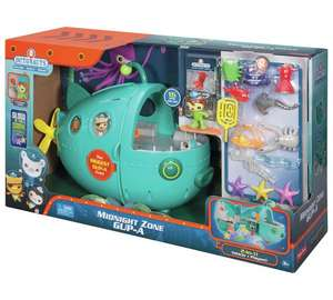 Octonauts Midnight Zone Gup-A at Argos for £19.99
