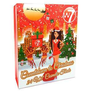 W7 cosmetics advent calendar 2017 £14.99 @ The perfume shop