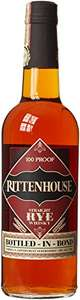 Rittenhouse 100 Proof Rye Whiskey @ Amazon £28.81