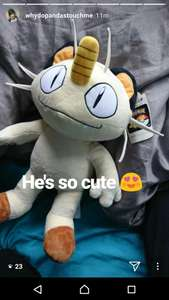 Meowth at build a bear instore £23